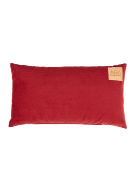 ABA - Design & Lliving - Kudde - A Velour - Bordeaux Red - 40x60