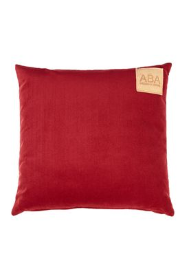 ABA - Design & Lliving - Pude - A Velour - Bordeaux Red - 50x50