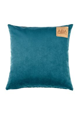 ABA - Design & Lliving - Pude - A Velour - Petrolium - 50x50