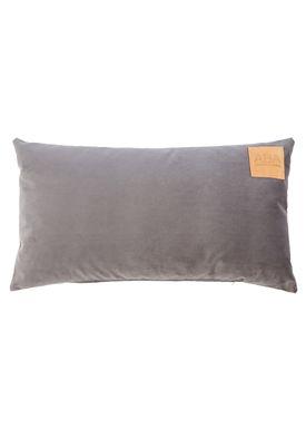 ABA - Design & Lliving - Pude - A Velour - Granitsten - 40x70