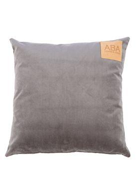 ABA - Design & Lliving - Pude - A Velour - Granitsten - 50x50