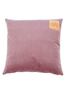 ABA - Design & Lliving - Pude - A Velour - Sommerblommer 50x50
