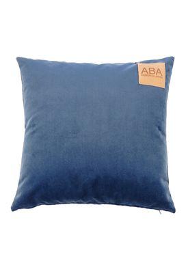 ABA - Design & Lliving - Pude - A Velour - Knistret Støvet Blå - 50x50