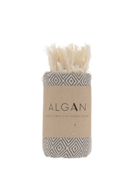 ALGAN - Towel - Elmas Guest towel - Grey