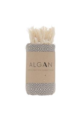 ALGAN - Håndklæde - Elmas Gæstehåndklæde - Grå
