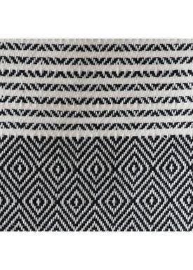 ALGAN - Towel - Elmas-iki Guest towel - Black