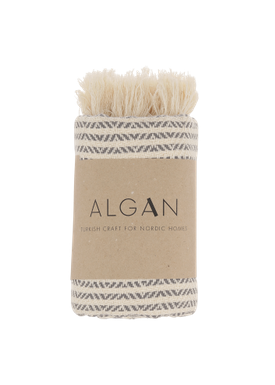 ALGAN - Håndklæde - Elmas-iki Gæstehåndklæde - Grå