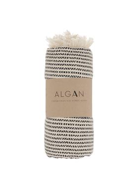 ALGAN - Håndklæde - Elmas-iki Hamamhåndklæde - Sort