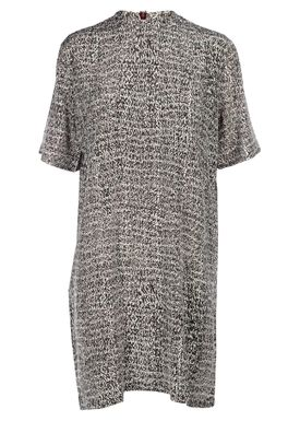 An Ounce - Kjole - Gonas Dress Silk - Burdundy Multi Print