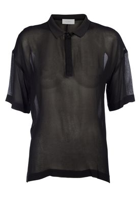 An Ounce - T-shirt - Gretha Top - Black