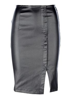 An Ounce - Top - Faith Coated Skirt - Sort