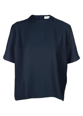 An Ounce - Top - Gikki Top - Petrol Blue