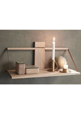 Andersen Furniture - Shelf - Wood Wall Shelf - Large - Oak