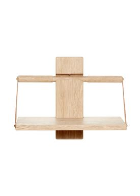 Andersen Furniture - Shelf - Wood Wall Shelf - Small - Oak