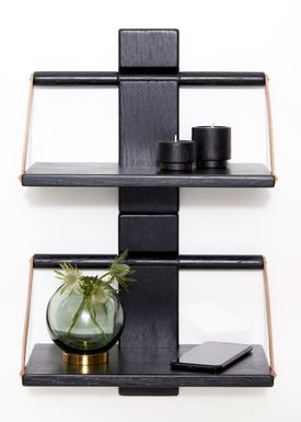Andersen Furniture - Shelf - Wood Wall Shelf - Small - Black