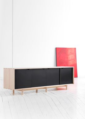 Andersen Furniture - Skænk - S1 Sideboard - Ask / Hvidolie