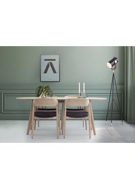 Andersen Furniture - Spisebord - DK10 Spisebord Massivt Træ - Eg sæbebehandlet