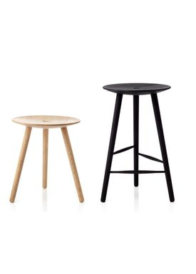 Applicata - Chair - Di VOLO Stool - Stained Beech - 75 cm.