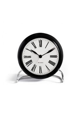 Arne Jacobsen - Watch - Roman Ure - Roman Table Clock Ø11
