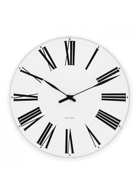 Arne Jacobsen - Watch - Roman Ure - Roman wall clock Ø48