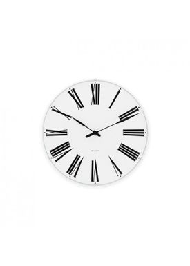 Arne Jacobsen - Watch - Roman Ure - Roman wall clock Ø21
