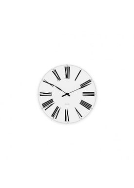 Arne Jacobsen - Watch - Roman Ure - Roman wall clock Ø16