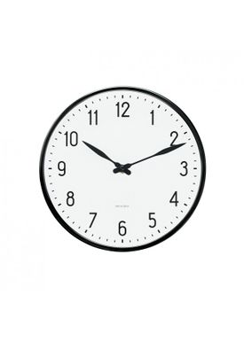 Arne Jacobsen - Watch - Station Vægur - Wall clock Ø29