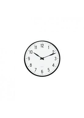 Arne Jacobsen - Watch - Station Vægur - Wall clock Ø16