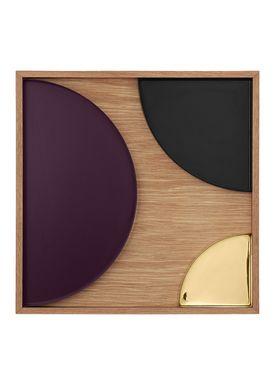 AYTM - Tray - UNITY wooden - Extra Large - Oak