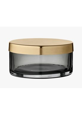 AYTM - Krukke - Box with lid - Phantom/Brass Large