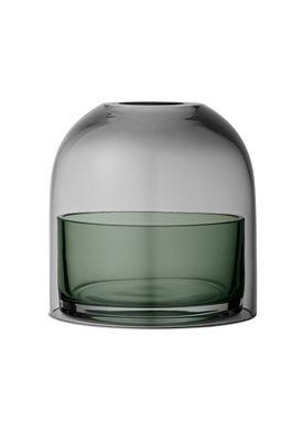 AYTM - Candle Holder - T-lite holder - Black/Forest - Small