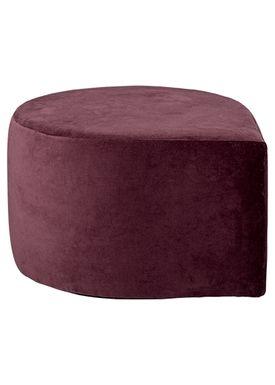 AYTM - Puff - STILLA pouf - Bordeaux