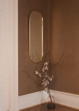 AYTM - Spejl - ANGURI oval mirror - Large - Gold