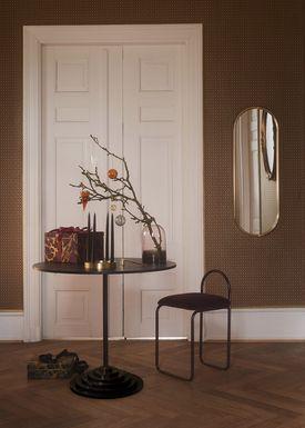 AYTM - Spejl - ANGURI oval mirror - Small - Bordeaux