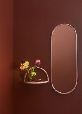 AYTM - Spejl - ANGURI oval mirror - Large - Rose