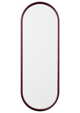 AYTM - Spejl - ANGURI oval mirror - Large - Bordeaux