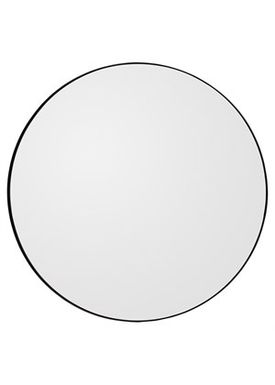 AYTM - Mirror - Round Wall Mirror - Black Large