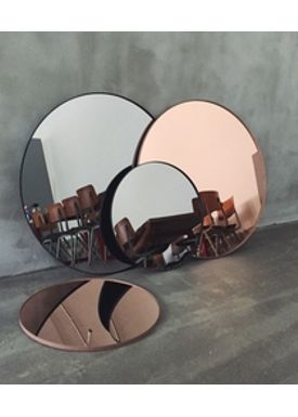 AYTM - Spejl - Round Wall Mirror - Rose Small
