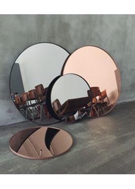 AYTM - Spejl - Round Wall Mirror - Rose Small
