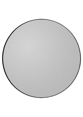 AYTM - Mirror - Round Wall Mirror - Black Medium