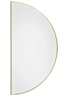 AYTM - Spegel - UNITY half circle mirror - Gold