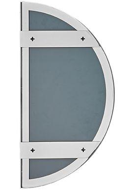 AYTM - Mirror - UNITY half circle mirror - Silver