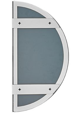 AYTM - Spejl - UNITY half circle mirror - Silver