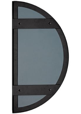 AYTM - Spegel - UNITY half circle mirror - Black