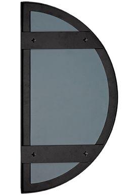 AYTM - Spejl - UNITY half circle mirror - Black