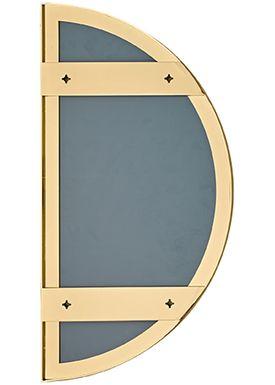 AYTM - Spejl - UNITY half circle mirror - Gold