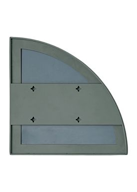 AYTM - Spegel - UNITY quarter circle mirror - Dusty Green
