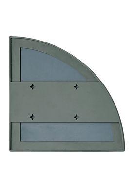 AYTM - Mirror - UNITY quarter circle mirror - Dusty Green
