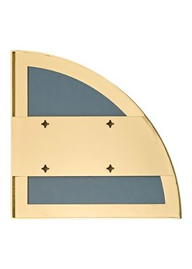AYTM - Spejl - UNITY quarter circle mirror - Gold