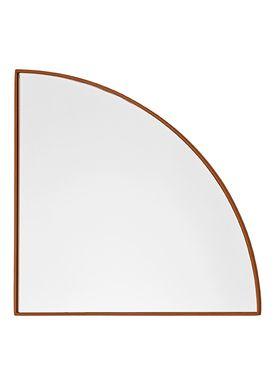 AYTM - Spejl - UNITY quarter circle mirror - Amber